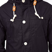 Brave Soul Parka Jacket With Hood