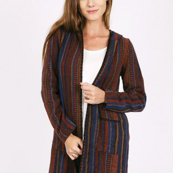 We Love In Secret Woven Multi-Colored Jacket