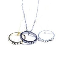 3 Pack Best Friends Eternity Necklaces