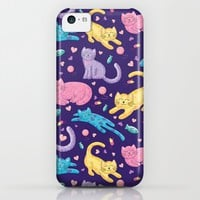Playful Kittens Pattern iPhone & iPod Case by Noonday Design | Society6