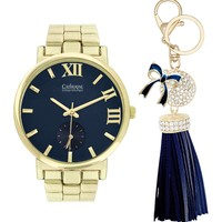 Catherine Catherine Malandrino | Women's Bracelet Watch and Key Chain 2-Piece Set | Nordstrom Rack