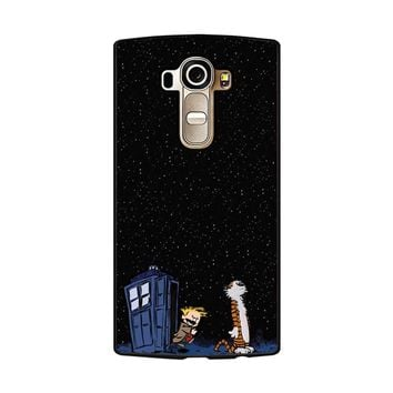 Calvin And Hobbes Apple Tardis LG G4 Case