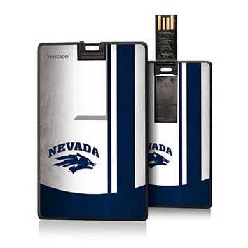 Nevada Wolf Pack 8GB Credit Card Style USB Flash Drive Licensed by the NCAA & Printed by keyscaper ®