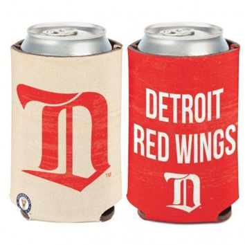LMFON NHL Detroit Red Wings Vintage Can Cooler