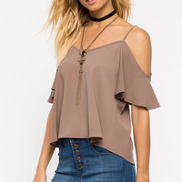 Summer Essential Cold Shoulder Top