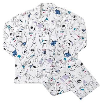 Holiday Hounds Pajama Set