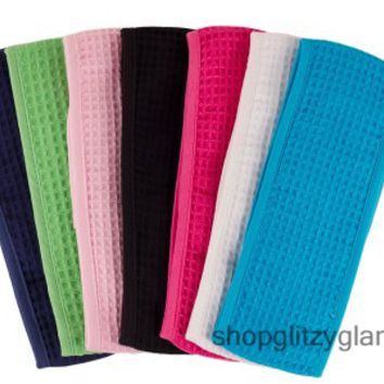 Waffle Weave Head Bands - Spa Headbands - For The Beach and Spa