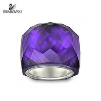 Swarovski Purple Velvet Crystal NIRVANA RING