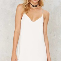 Allegra Mini Dress - White