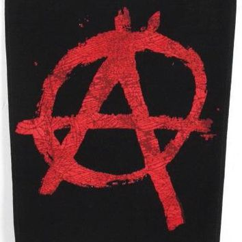Anarchy Back Patch - Red