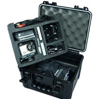 Go Professional Pro Watertight Rugged Case for HD GoPro Camera, Fits - Hero 3, Hero 3+, Hero 4