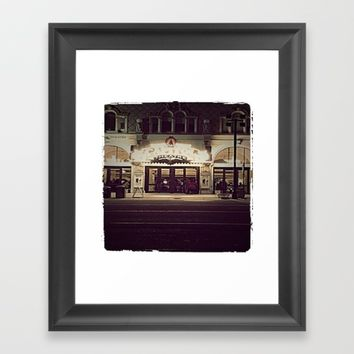 Capitol Theatre Framed Art Print by Jessica Ivy