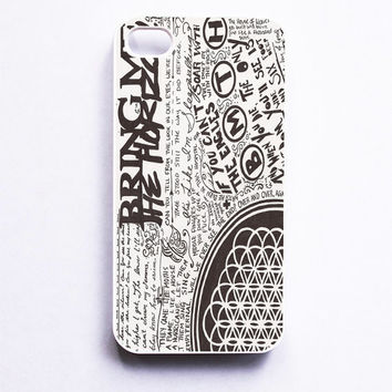 Bring Me The Horizon Collage Phone Case For iPhone Samsung iPod Sony