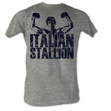 Rocky Classic Stallion Mens Tee Shirt