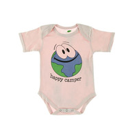 The Green Creation Baby Girls Organic Graphic Bodysuit