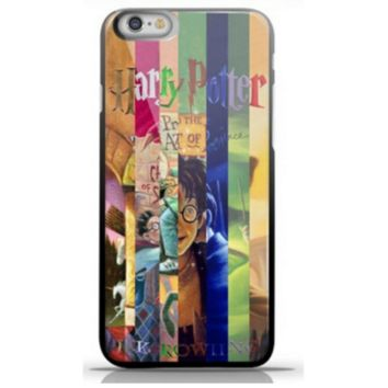 Harry Potter All Books Skin/Case For iPhone 4 4s 4g 5 5s 5g 6 6 Plus