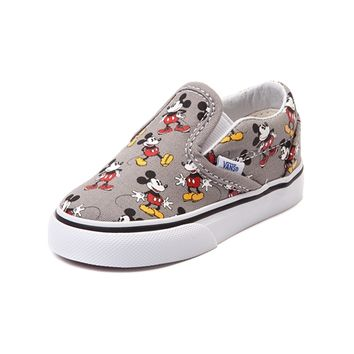 Toddler Disney x Vans Mickey Slip-On Skate Shoe