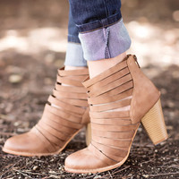 Step In Line Booties