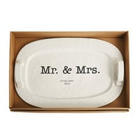 Mud Pie Wedding Collection Mr. & Mrs. Platter | Dillards