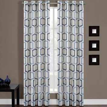 Portinari Grommet Top Window Curtain Panel