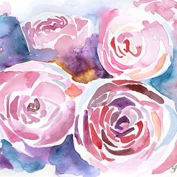 Abstract Peonies Floral