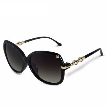 Polarized Butterfly Classical Woman Sun Glasses