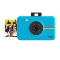 Cool Blue Digital Camera and Printer by Polaroid