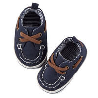Canvas Crib Boat Shoes