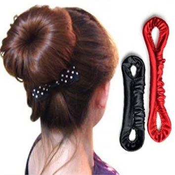 Variety Hair Salons Arts Rod Pattern Plate Meatball Dish Hair Stick Scrunchy Ornaments Hair Styling Tools
