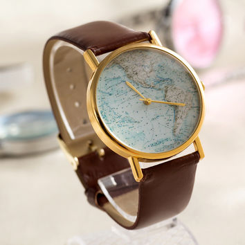 Hot Vintage Fashion Quartz Classic Watch Round Ladies Women Men Wristwatch Michael Kor Like On Sales = 4785189572