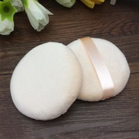 Free Shipping Facial Face cotton Makeup Cosmetic Powder puff New Cleansing makeup puff #286