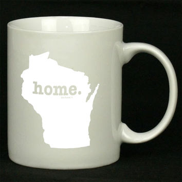 Wisconsin Home Art For Ceramic Mugs Coffee *