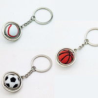 2016 newest football baseball basketball  Soccer Keyring Key chains NK5367
