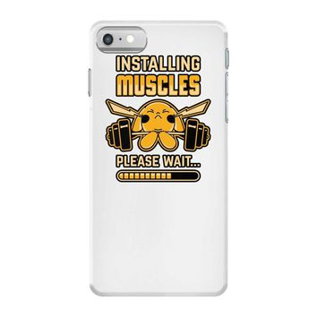 pikachu muscles iPhone 7 Case