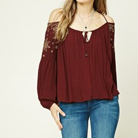 Halter Neck Peasant Top