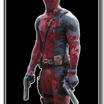 Deadpool Dead pool Taco Custom Canvas Wall Art Marvel  Wallpaper  Poster Kids Anime Stickers Ryan Reynolds Mural Bedroom Decor #2880# AT_70_6