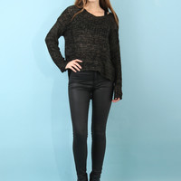 Sunday Stevens Ryland Sweater - Olive