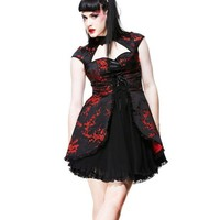 Hell Bunny Asian Ruka Dress :: VampireFreaks Store :: Gothic Clothing, Cyber-goth, punk, metal, alternative, rave, freak fashions