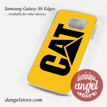 yellow caterpillar logo Phone Case for Samsung Galaxy S3/S4/S5/S6/S6 Edge/S6 Edge Plus