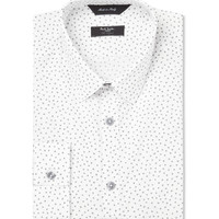 Paul Smith London White Byard Heart-Print Cotton Shirt | MR PORTER