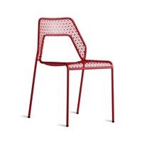 Blu Dot Hot Mesh Dining Chair in Red