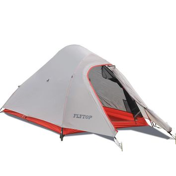 FLYTOP 2 person ultralight camping tent outdoor free-standing 2 man camp tents same as naturehike cloud up 2 updated version
