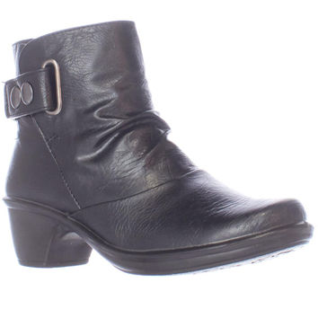 Easy Street Wynne Casual Ankle Boots - Black