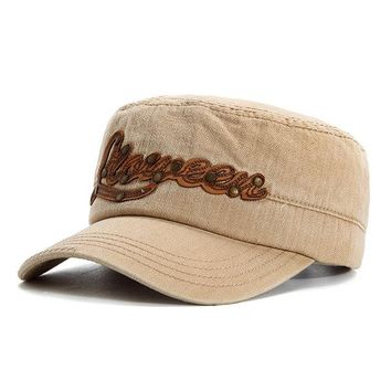 Breathable Cotton Military Hat Outdoor Sports Cap