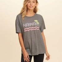 Oversized Destination Graphic Tee