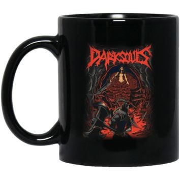Chaos Witch Dark Souls T-Shirt-01 BM11OZ 11 oz. Black Mug