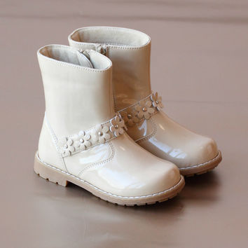 L'Amour Girls Flower Power Boot