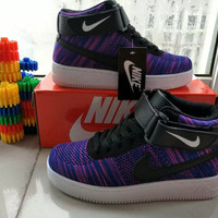 """NIKE"" Fashion Casual Multicolor Flying Weave High Help Shoes Sneakers Women Running Shoes"