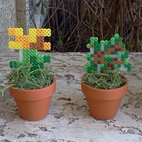 Minecraft Potted Plants