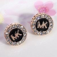 MK Fashion Women Diamond Stud Earring Jewelry I11923-1